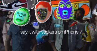 Apple iPhone 7 Werbung – Sticker Fight